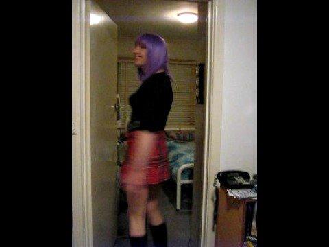 Crossdresser Modelling For My Girlfriend video