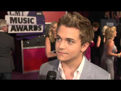 2013 Cmt Music Awards - Hunter Hayes Red Carpet Interview video
