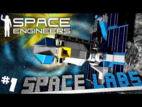 Space Engineers #1 - Space Labs