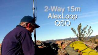 AlexLoop 2 way QSO during Summits on the Air (SOTA)