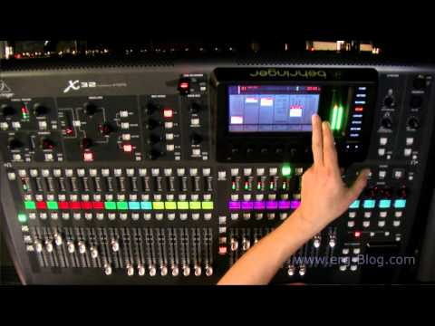 Behringer X32 Review (9) global settings setup
