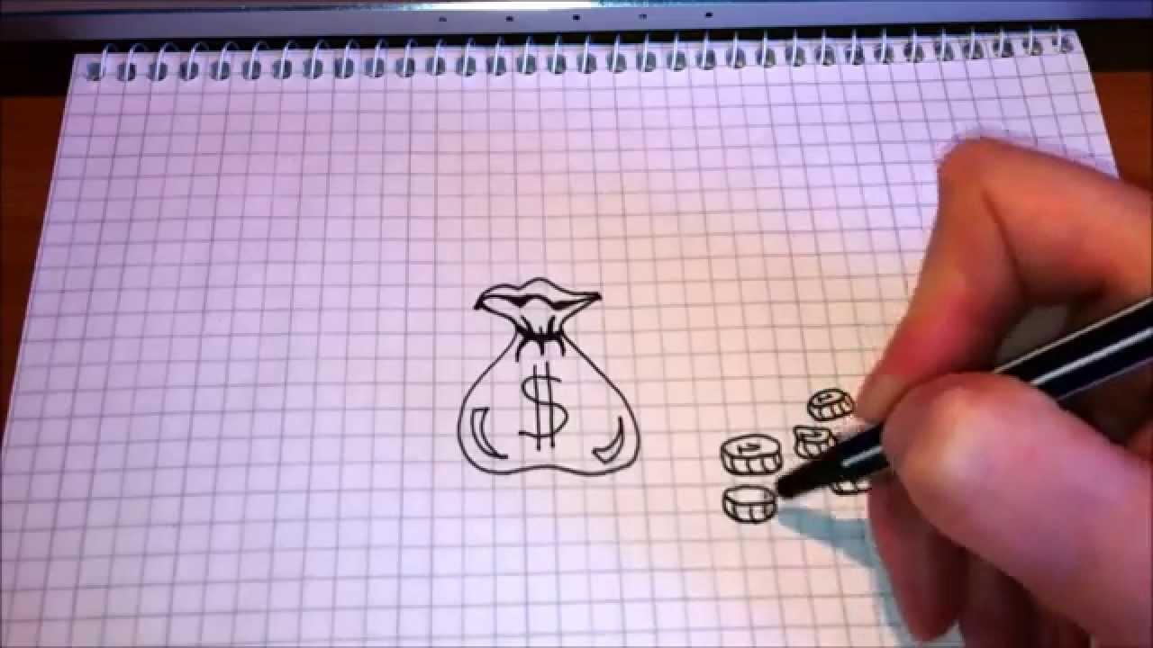Рисунки в блокноте ручкой для начинающих легкие