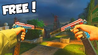 the FREE HEROIC 1911 PISTOL VARIANT is BAD*SS in COD WW2!!