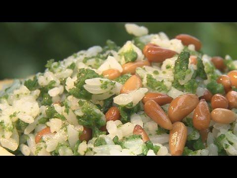 現代心素派-20141024 香積料理 - 松子翡翠飯、千絲芋頭糕 - 在地好美味 - 榕樹下紅豆餅