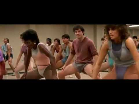 Jamie Lee Curtis Fitness Movie Jamie Lee Curtis vs John