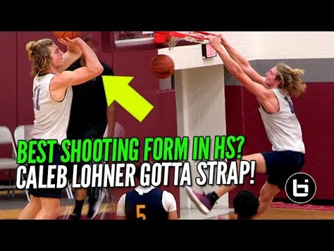 BEST SHOOTING FORM IN HIGH SCHOOL? Caleb Lohner Vs Tre White!