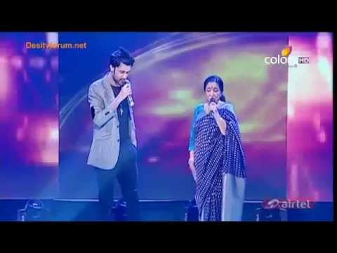 Atif Aslam  Asha Bhosle (dilbar Mere & Chura Liya) Sur Kshetra Performs video