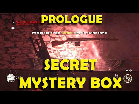 Call of Duty WW2 Zombies - How to Unlock Mystery Box in Prologue / Gröesten Haus (Lantern Locations)