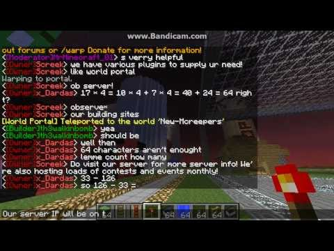 McCreepers 24/7 Epic minecraft Cracked server||Towny/FriendlyStaff/Manyplugins!|
