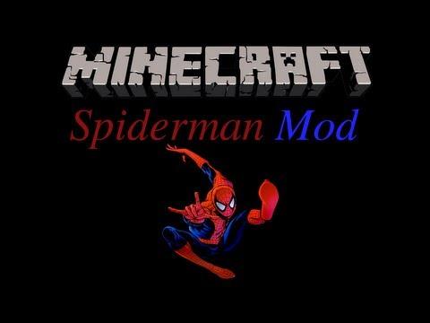 Minecraft: Spiderman Mod Review 1.6.2