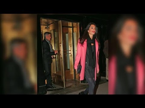 George Clooney & Amal Alamuddin Could Have A Fall Wedding