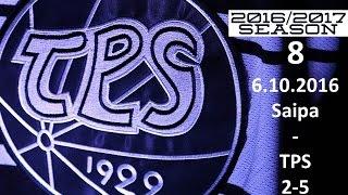 8. SAIPA - TPS 2016-2017 6.10.2016 MAALIT