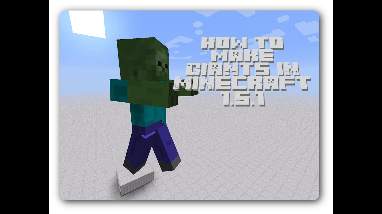 Minecraft Giant Mod Giant Zombies in Minecraft