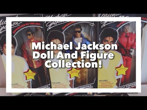 Michael Jackson Doll And Figure Collection