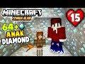 ANAK KETIGA DOYAN DIAMOND, GAMPANG KAYA ! - MINECRAFT COMES ALIVE #15