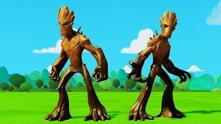 Мультик игра для детей Грут и Грут Тачки Машинки Дисней Новые серии на русском Groot & Disney cars