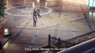 Sword Art Online-Ordinal Scale : Asuna can't remember what happened in SAO and how she met Kirito