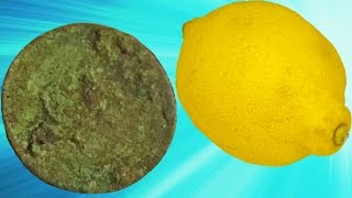 MYSTERIOUS OLD COIN REVEALED ||| The Lemon Juice Test