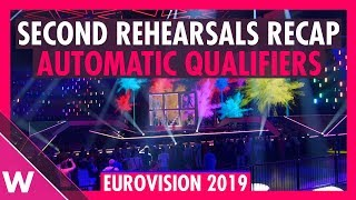 Eurovision 2019 automatic qualifiers second rehearsals recap |  Day 4 (May 12) | wiwibloggs