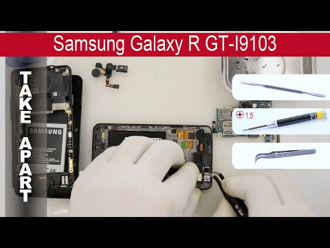 How to disassemble 📱 Samsung Galaxy R GT I9103 Take apart, Tutorial