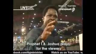 SCOAN 13 April 2014: Prayer: Because Of Christ There Is Calmness In My Life With Prophet TB Joshua