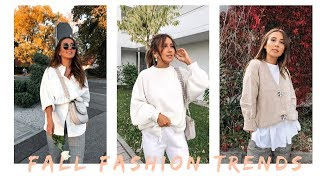 HERBST FASHION TRENDS & TRY ON HAUL | SCHANNALOVES