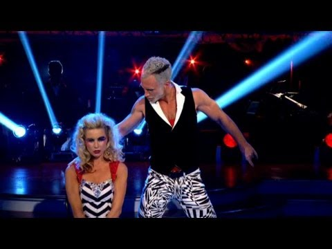 Denise Van Outen & James Cha Cha to 'Superfreak' - Strictly Come Dancing 2012 - BBC One
