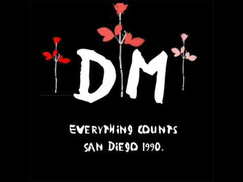 Depeche Mode Blue Dress live in San Diego 31.07.1990