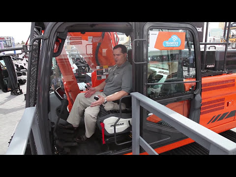 Doosan DX350LC (iT4) unveiled at ConExpo 2014