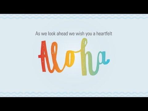 Aloha and Mahalo from the Hawaii Tourism Authority!