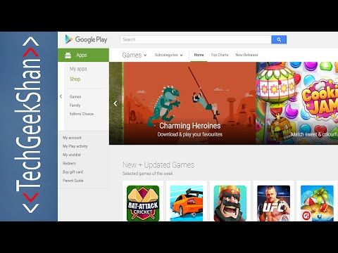 How To Download Google Playstore Apps Via Pc