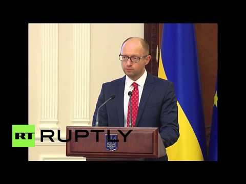 Ukraine: 'The Wall Project' - Yatsenyuk wants state border between Russia and Ukraine