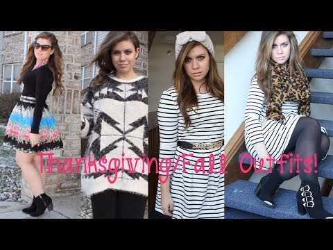 {Fashion Review} Thanksgiving/Fall Outfit Ideas!