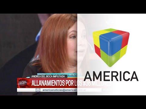 Allanan un estudio jurídico vinculado con Andrea del Boca