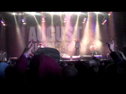 August Burns Red - Intro + Internal Cannon @ Groezrock 2013