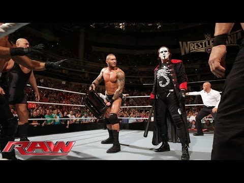 Sting And The Viper Clean House: Raw, March 16, 2015 video