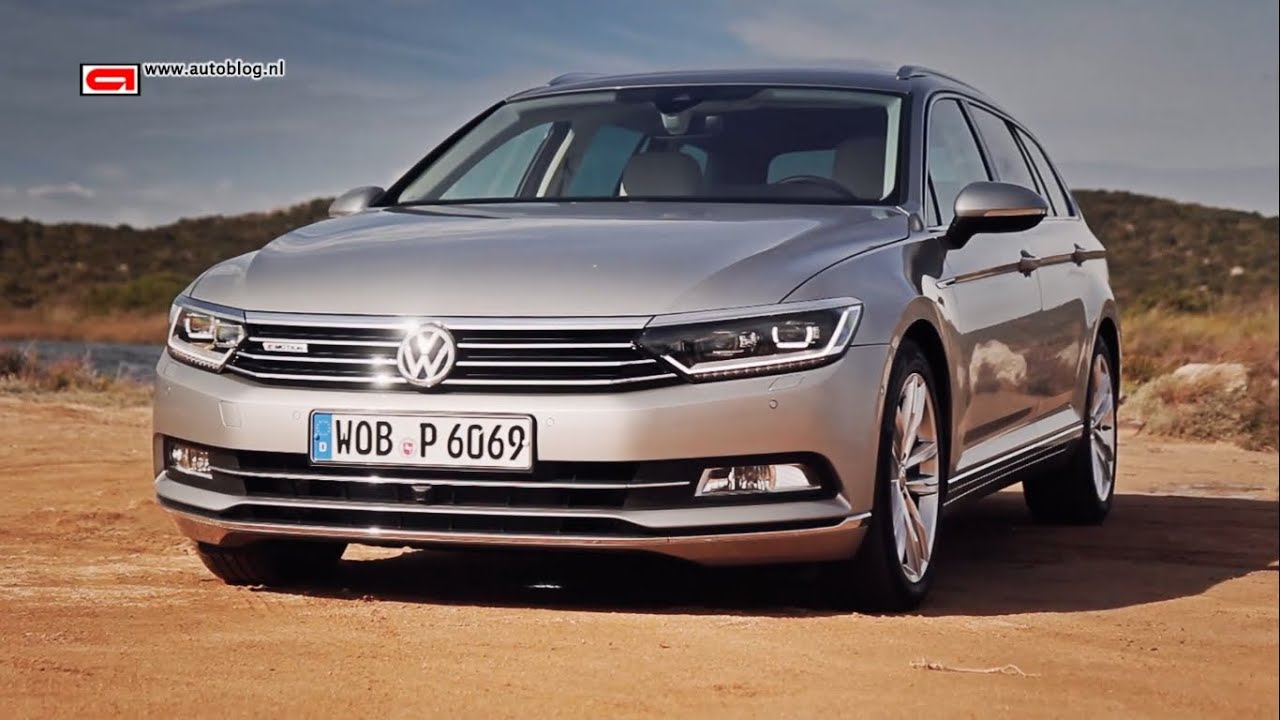 volkswagen passat b8 review youtube. Black Bedroom Furniture Sets. Home Design Ideas