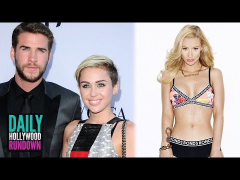 Liam Hemsworth & Miley Cyrus Dating Again? - Iggy Azalea's Underwear Campaign (DHR)