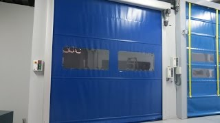 INKEMA Rolling High-Speed Aluminium Door - PRAE
