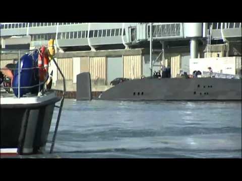 Shooting on the HMS Astute nuclear-powered submarine