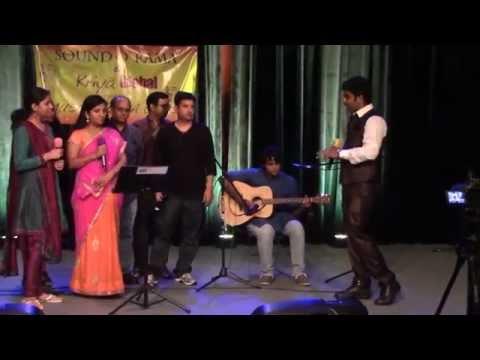 Telugu Tamil Hindi Malayalam Songs Medley at Music For Cause...