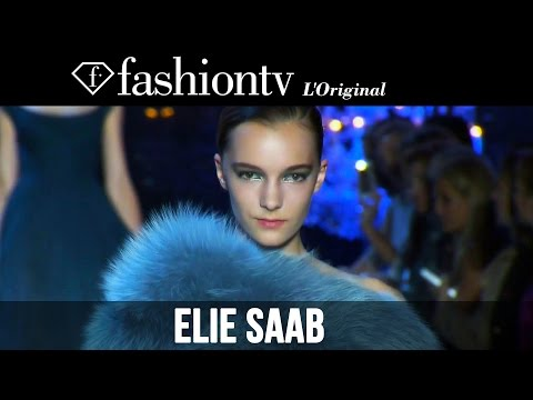 Elie Saab Couture Fall winter 2014-15 | Paris Couture Fashion Week | Fashiontv video