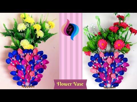 Paper Flower Vase Making Step By Step How To Make A Flower Vase At