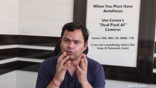 Canon Dual Pixel AF vs Nikon Auto Focus - Comparison (Hindi)