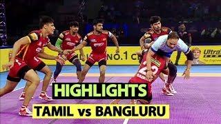 Pro Kabaddi 2019 Highlights[Hindi]: Bengaluru Bulls Beat Tamil Thalaivas   Sports Tak