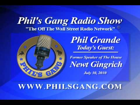 Phil's Gang Newt Gingrich Interview