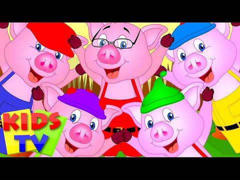 Five Little Piggies Nursery Rhymes Five Little Series Kids Tv Nursery Rhymes S01EP286