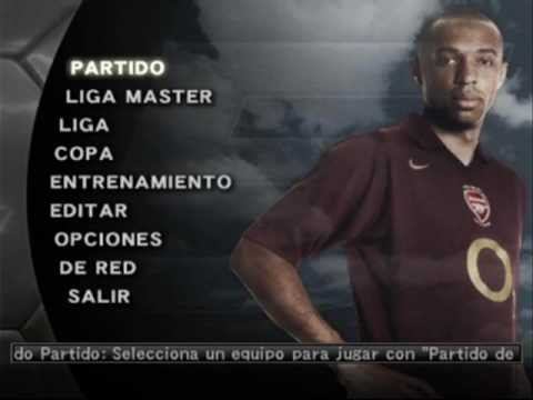 Pro Evolution Soccer 5 - Main Menu (Spiral 2005) Music