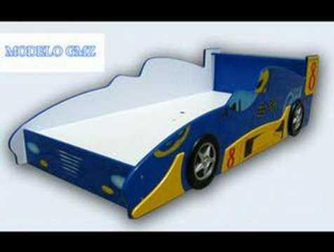Cama infantil en forma de coche youtube - Coches cama para ninos ...