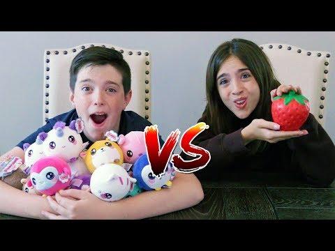 FURRY SQUISHY vs SQUISHY CHALLENGE!!